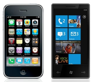 Illustration for article titled Windows Phone 7 Interface: Microsoft Has Out-Appled Apple