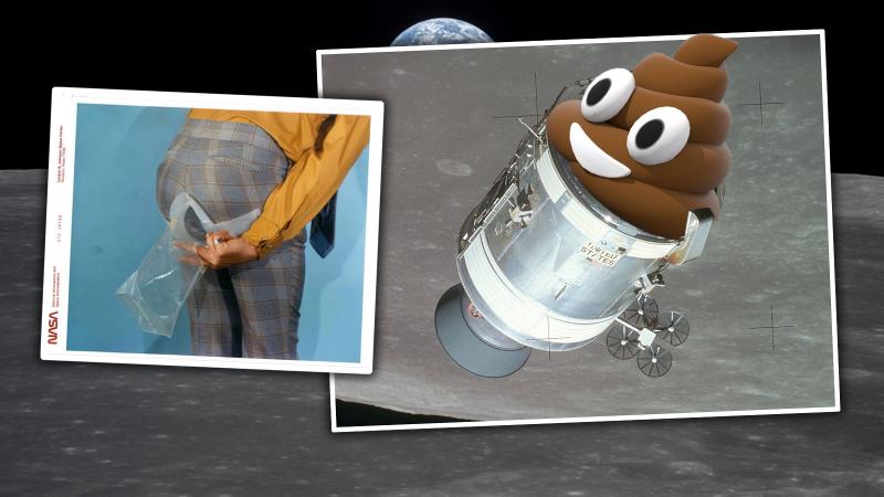 Illustration for article titled Intenté cagar como lo hacían los astronautas del Apollo 11. Fue horrible