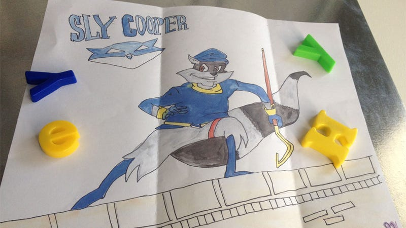 Illustration for article titled A Story About Sly Cooper, By Mark Serrels, Aged 30
