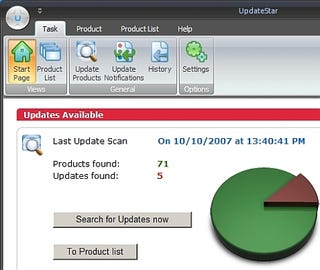 Illustration for article titled Find Software Updates with UpdateStar