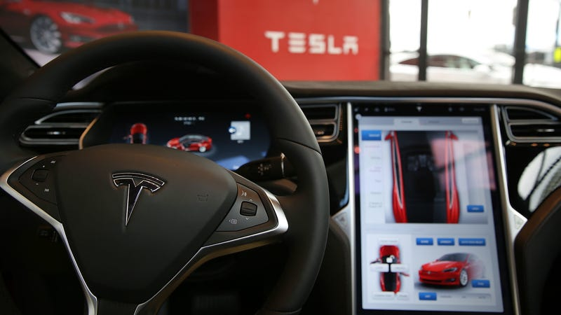 The problem arose with the latest Tesla firmware update