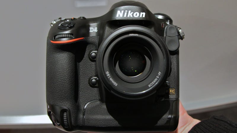 Illustration for article titled Nikon D4 Hands-On: The Photographer's Newest Deadly Weapon