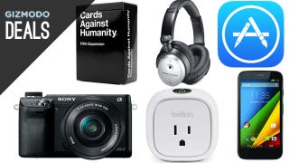 Illustration for article titled Save 20% on iTunes, Audio Technicas, Deals Against Humanity [Deals]