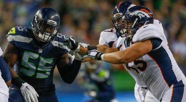 "Seahawks Defensive End Frank Clark On Cam Newton: ""That Bo…"