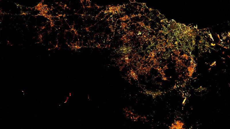 Imagen: Thomas Pesquet / Agencia Espacial Europea (ESA)