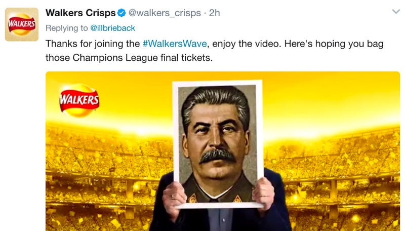 Illustration for article titled Chip Brand's Automated Twitter Promotion Spirals Out Of Control