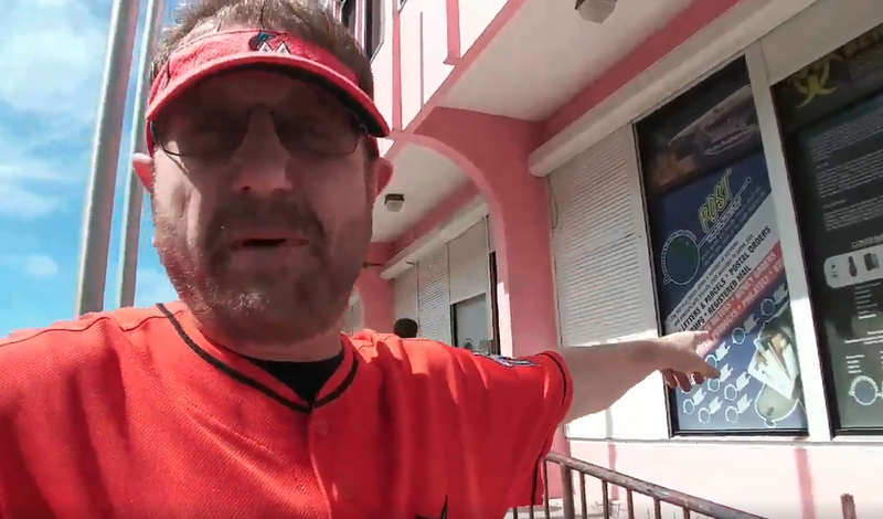 Illustration for article titled Marlins Man Visits Marlins' Off-Shore Corporate Home, Finds P.O. Box And Many Confused Locals