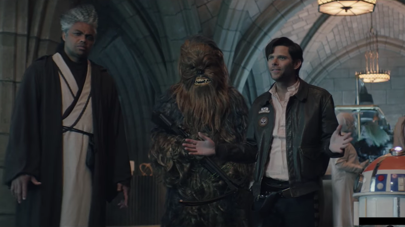 Illustration for article titled Charles Barkley can't understand Star Wars languages in this cut SNL sketch
