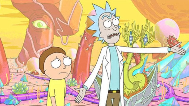 Illustration for article titled Watch the full pilot for Dan Harmon's Adult Swim series Rick And Morty