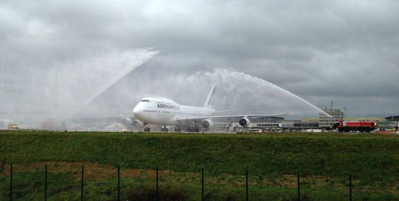 Adiós al legendario Boeing 747: Air France se despide de su último Jumbo