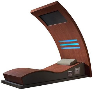 Illustration for article titled Röger Leige Wave Infrared Sauna Is One Swank Torture Device