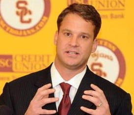 Illustration for article titled One-Fourth Of Lane Kiffin Rumor Turns Out To Be True
