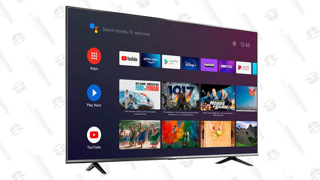 Go Big or Go Home: Save $300 on a 75  4K Smart TV