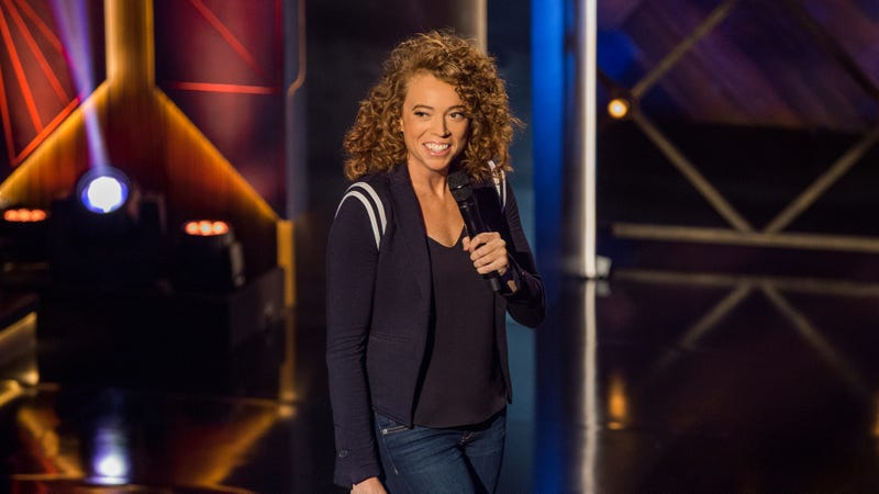 Illustration for article titled This sneak peek from Michelle Wolf's new Netflix show isn't here to tease you… it's here to win