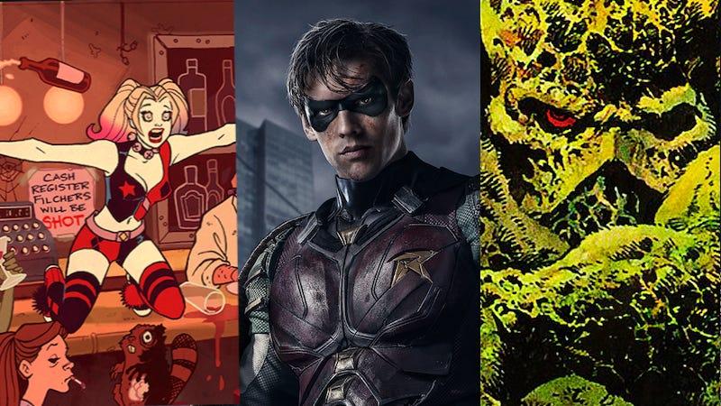 DC Universe - Harley Quinn, Teen Titans, Swamp Thing