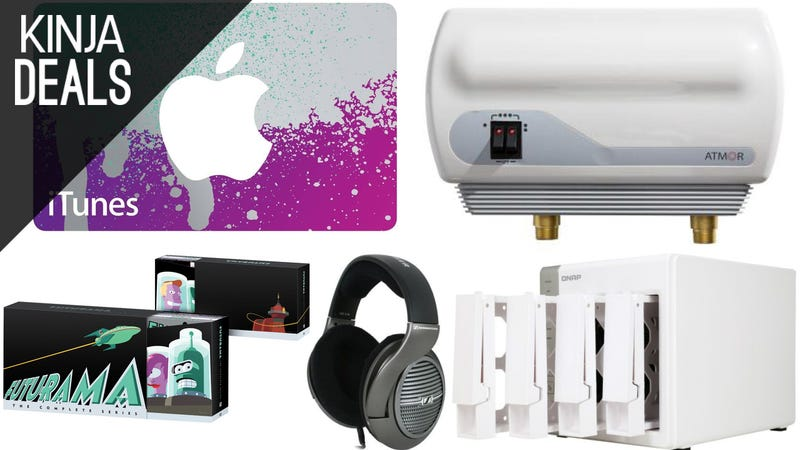 Illustration for article titled Today's Best Deals: Bluetooth Earbuds, Immersion Blender, and More
