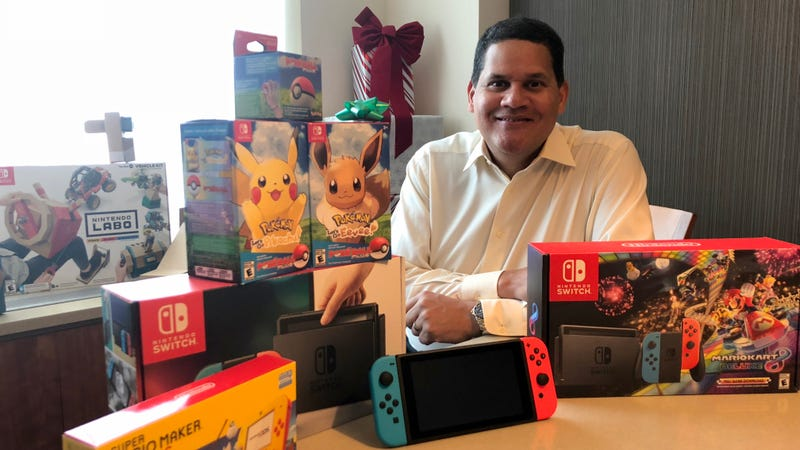 Illustration for article titled Nintendo's Reggie Fils-Aime Has Some Games He'd Like To Sell You