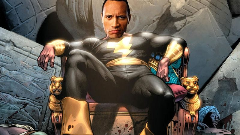 Illustration for article titled Dwayne Johnson finally chooses evil
