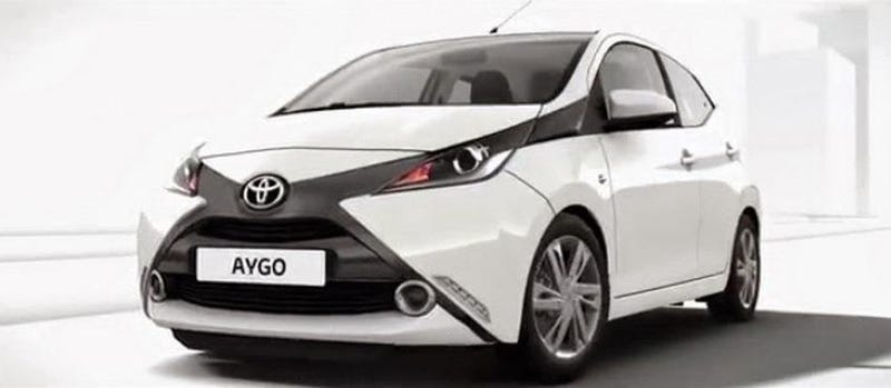 Illustration for article titled 2014 Toyota Aygo: The Maddest Little City Car You Can't Help But Love