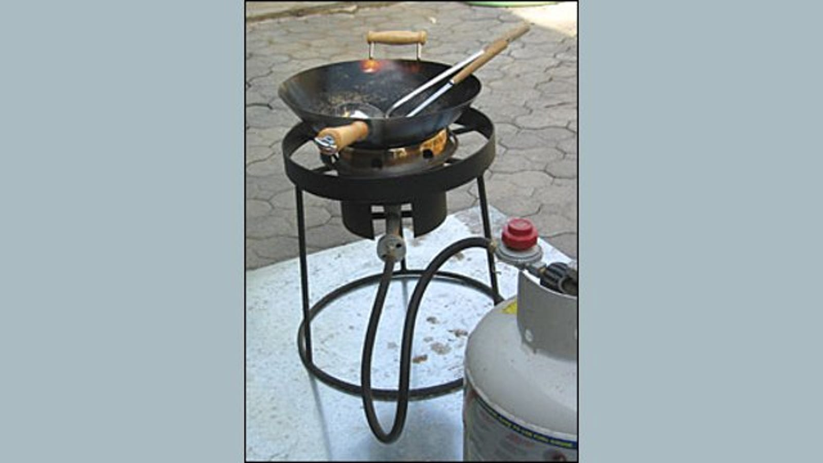 Use A Turkey Fryer As A High Temperature Wok Cooking Surface