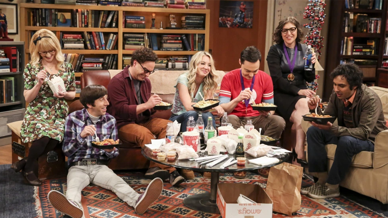 Where were you in the great battle for the rights to stream Big Bang Theory?
