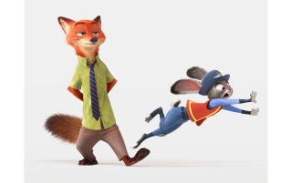 First Look At The Animal Heroes Of Disneys Next Animated Movie Zootopia