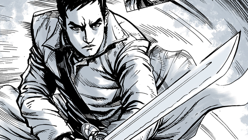 Illustration for article titled Into The Badlands Has Its Own Comic, and You Can Read It Right Now