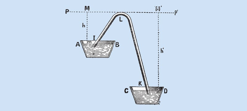 Illustration for article titled You Can Build a Siphon Way Taller Than We Thought