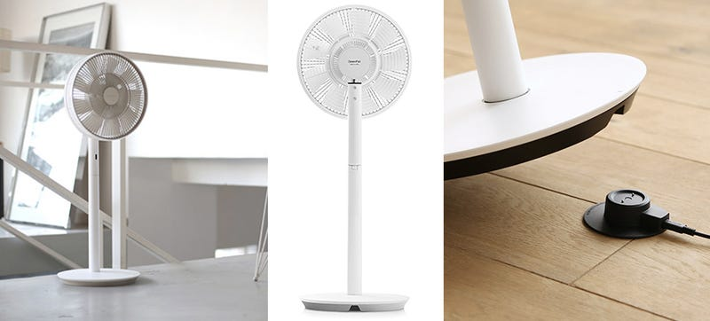 Illustration for article titled A Rechargeable Tower Fan That Lets You Take a Breeze Wherever You Need