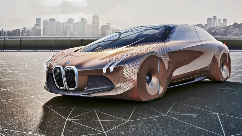 The BMW Vision Next 100 Concept. Image: BMW
