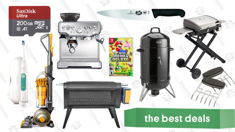Monday's Best Deals: Dyson Ball, Grills and Smokers, Biolite, and More