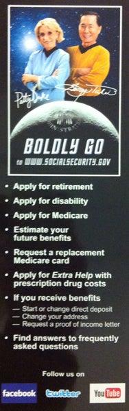 Illustration for article titled Boldly go ...