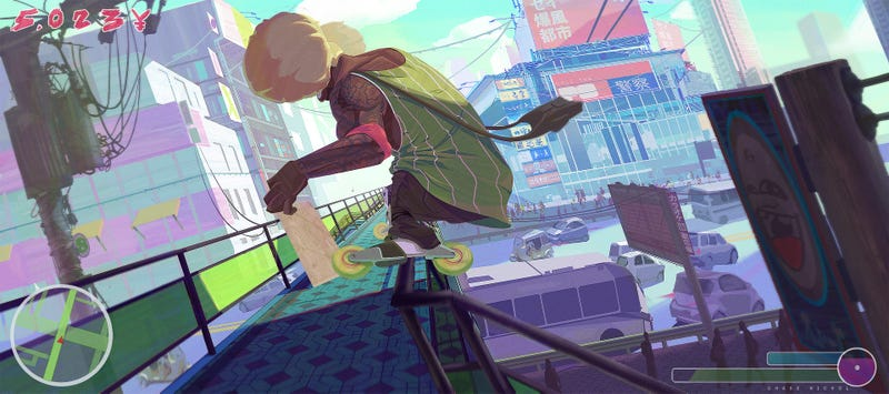 Illustration for article titled Echoes Of Jet Set Radio
