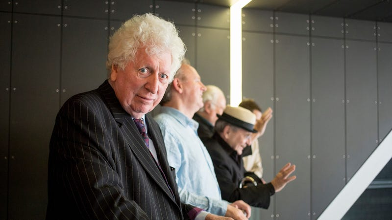 Illustration for article titled Former Time Lord Tom Baker wrote a new Doctor Who novel