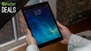 Illustration for article titled iPad Air $40 Off, A TV Fit for the Super Bowl, Kindle Fire HDX [Deals]