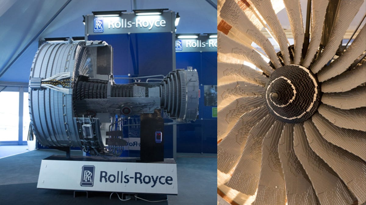 152,455-Piece Rolls-Royce Engine Is the Most Complex Lego