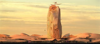 Illustration for article titled French Design Firms Imagine An Arcology In The Sahara