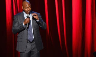 Dave Chappelle performs at Radio City Music Hall on June 19, 2014, in New York City.Mike Coppola/Getty Images