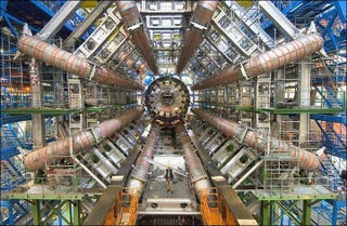 Illustration for article titled Did you know: the Large Hadron Collider is on Google Street View?