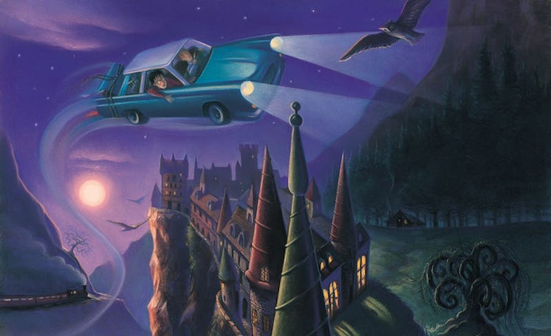 Illustration for article titled These Missing Harry Potter Cover Illustrations Are Better Than Movies