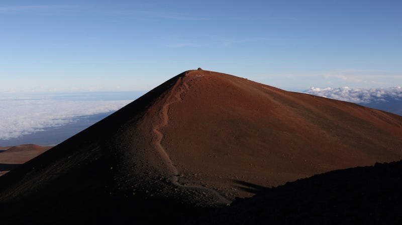 Mauna Kea, the contested site for the Thirty Meter Telescope.