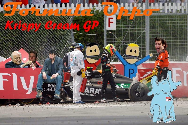 Illustration for article titled Formula Oppo: The Krispy Cream Grand Prix of The Communist Colony