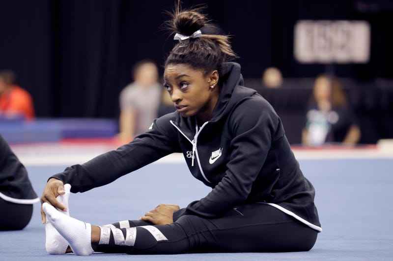 Illustration for article titled Simone Biles Tears Up While Expressing Anger At USA Gymnastics