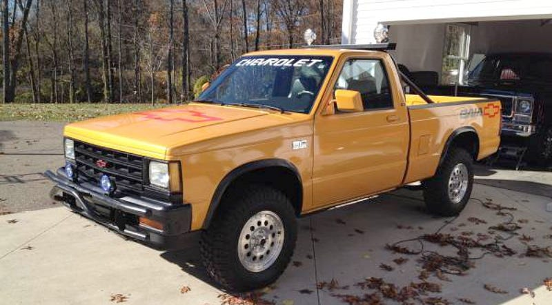 Illustration for article titled This 1989 Chevy S10 Baja Asks $6,950, What Do You Think About That?
