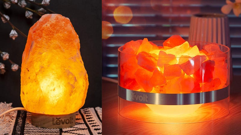Levoit Cora Natural Himalayan Pink Salt Lamp | $9 | Amazon | Promo code VYL6LQYALevoit Kyra Himalayan Sea Salt Lamp | $13 | Amazon | Promo code JV52C7EFLevoit Kana Himalayan Sea Salt Lamp | $14 | Amazon | Promo code Q3JOSV4TLevoit Aria Natural Himalayan Salt Lamp | $33 | Amazon | Promo code Y66QQF5SLevoit Elora Himalayan Sea Salt Lamp | $20 | Amazon
