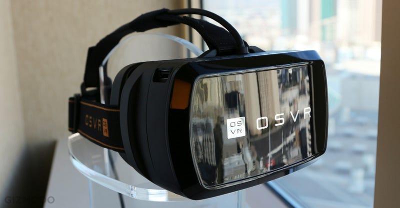 Illustration for article titled Razer ya tiene su propio visor open source de realidad virtual por $200