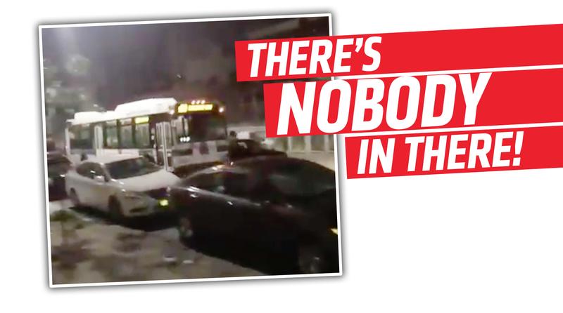 Pedestrian Injured After Runaway Bus Rolls Down Brooklyn Street, Slams Into Church