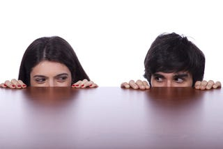 Illustration for article titled It Doesn't Take Long For A Woman To Notice A Man's Gaze