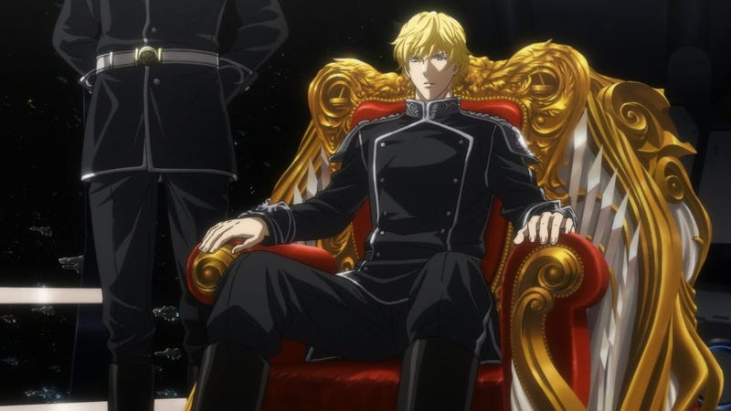 Illustration for article titled Enjoy the English subtitled trailer for the Legend of Galactic Heroes anime