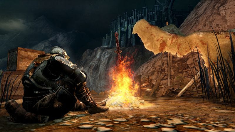 Illustration for article titled Dark Souls II adds a hint of kindness to the series' sadism